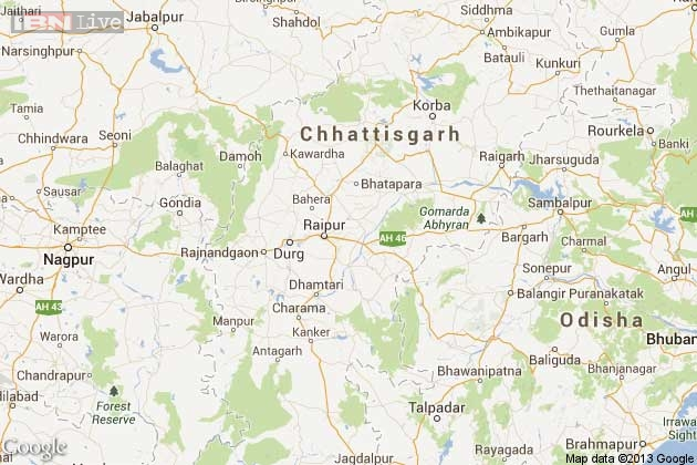 chattisgarh map1