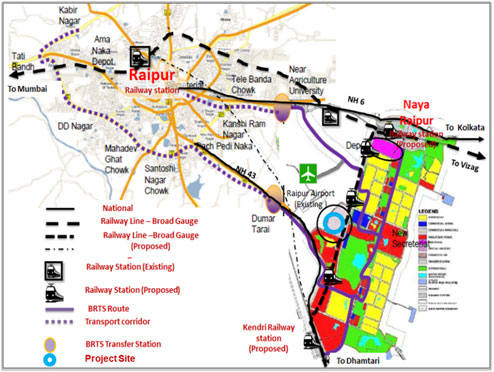 brts ahmedabad route map pdf